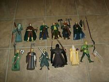 RARE LORD OF THE RINGS MOVIE 12 LOOSE LOTR FIGURE LOT MOC GANDALF FRODO