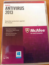 McAfee 2013 Antivirus - 731944630359 PROTECT ONE PC - OPEN BOX UPGRADES TO 2016