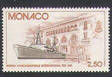 Monaco 1981 Science/Research/Ship/Boat/Nautical/Building/Transport 1v (n34179)
