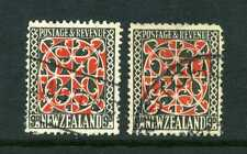 New Zealand 1936 Pictorials x2 9d SG 587 used