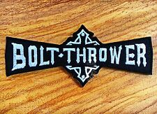 BORT-THROWER Rock Band Embroidered Sew Iron On Patch Punk Heavy Metal Music Logo