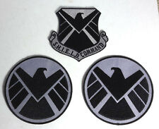 Avengers/Agents of SHIELD Command Costume Shoulder Patch Set of 3 (ASPA-Cmd-Set)