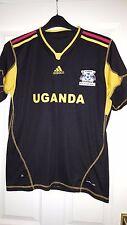 Camicia calcio da uomo-UGANDA-Goal Keeper 2012-2013 - Adidas-nero (Africa)