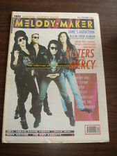 MELODY MAKER 1990 OCTOBER 6 SISTERS OF MERCY JANE'S ADDICTION REM SPIKE LEE