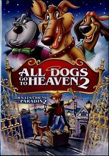 NEW DVD // All Dogs Go to Heaven 2 /VOICES OF CHARLIE SHEEN, SHEENA EASTON