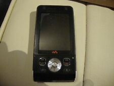 Sony Ericsson Walkman W910i - Noble Black (Three) Mobile Phone