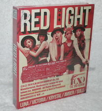 f(x) Vol. 3 Red Light Taiwan Ltd CD+140P+Card (Ver.B)