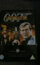 Live And Let Die (2-Disc ULTIMATE EDITION)  JAMES BOND. new - not sealed.