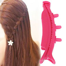 CHIC Plastic Magic Topsy Tail Hair Braid Ponytail Styling Maker Clip Tool Black