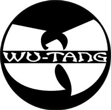 Parche imprimido, Iron on patch, /Textil sticker, Pegatina/ - Wu-Tang Clan