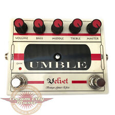 Used Velvet Pedals Umble Overdrive Distortion Guitar Effect Pedal