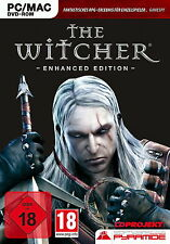 The witcher-Enhanced Edition PC Mac 18 versión alemán en DVD funda