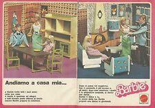 X9443 BARBIE Andiamo a casa mia... - Pubblicità 1977 - Advertising
