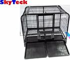 NEW BIG HUGE DOG CAT RABBIT MOUSE ANIMAL CAGE KENNEL TRAY PEN STRONG STEEL43