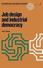 International Series on the Quality of Working Life Ser.: Job Design and...