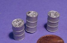 O SCALE On3/On30 WISEMAN MODEL SERVICES DETAIL PARTS #O295 SMALL TRASH BARRELS