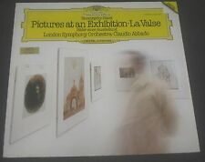 Mussorgsky , Ravel Pictures At An Exhibition Abbado  DGG 2532 057 LP EX
