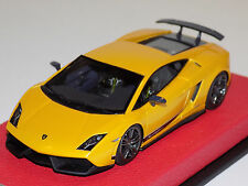 1/43 Looksmart Lamborghini Gallardo LP570-4 Superleggera Midas Yellow Leather