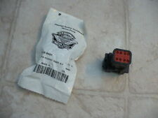 HARLEY SEALED PIN HOUSING DEUTSCH, BLACK, 8-PIN - 72108-94BK