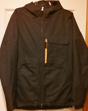 Turbine Boardwear Men's Dark Brown Snowboard Jacket Large 10Kmm WPB Polyester
