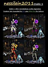 Diablo 3 ros ps4/xbox one-Magicien/wizard All 5 Ancient set's 100% unmodded