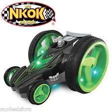 NKOK Racing Twister Z Flip R/C Stunt Racer  Green/Black/Grey OR Red/Blue/Yellow