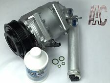 Remanufactured AC Compressor + new Drier for 2011-2015 Nissan Rogue w/ Warranty