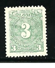 Colombia-(Antioquia)- Stamps- Scott # 133/A51-3c-Mint/H-1902