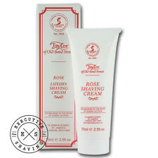 Taylor of Old Bond Street Rose Shaving Cream Tube 75 ml (tc75g-rose)