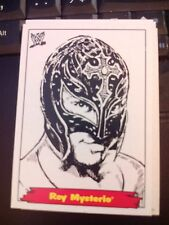 """2012 WWE Heritage Jerry """"The King"""" Lawler Portraits #6 Rey Mysterio MINT"""