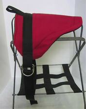 PONY BAREBACK SADDLE  PAD - RED