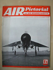 AIR PICTORIAL MAGAZINE FEBRUARY 1958 ENGLISH ELECTRIC P.1 SUPERSONIC FIGHTER