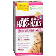 Longer, Stronger Hair and Nails, 60-Count @ LOW PRICE $