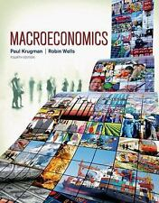Macroeconomics by Paul Krugman and Robin Wells (2015, Paperback, Revised)
