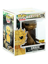"""FUNKO POP! Movies_THE HOBBIT_The Battle of The Five Armies_Gold SMAUG 6 """" figure"""