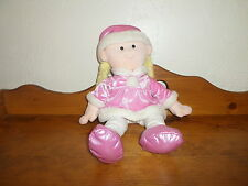"Sweet Large 18"" Animal Alley Plush Doll Pink Outfit Blonde Hair"