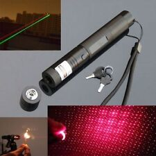 High Power 5mw 650nm Red Laser Pointer Lazer Adjustable Burn Match with Battery