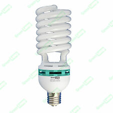125w Blue Spectrum 6400k CFL daylight hydroponic grow light lamp bulb GES E40