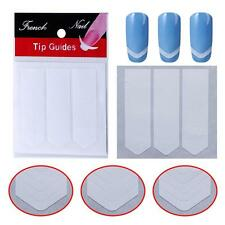 Nail Art Sticker French Tip Manicure Guides Stickers French Smile Line Guide