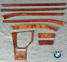 UK RHD BMW E39 5 Series 1995-2003 Interior Wood Trim Set Vavona Wooden Veneer