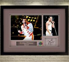 Freddie Mercury Queen signed autograph Music Memorabilia pop WITH FRAME A