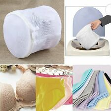 Zipped Wash Bag Laundry Washing Mesh Net Lingerie Underwear Bra Clothes Socks