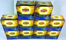 Lipton Russian Earl Grey Pyramid Tea Bags 10 Boxes. 200 Teabags Free Delivery