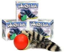 Weazel Weasel Ball - 3 PIECES - Gag Prank Gift Fun Toy for Dog Cat Pets Children