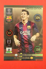ADRENALYN CHAMPIONS LEAGUE 2014/15 LIMITED EDITION XXL MESSI BARCELONA MINT!!