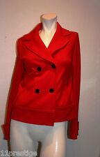 BANANA REPUBLIC DOUBLE BREASTED JACKET RED  SIZE XS
