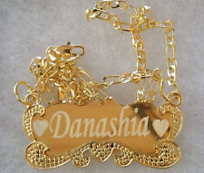 Handmade 18k Gold Plated Custom Any Personalized Name Necklace Gift NY