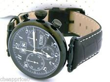 Ritmo Mundo Unisex 703/5 Black Corinthian Analog Display Quartz Black Watch