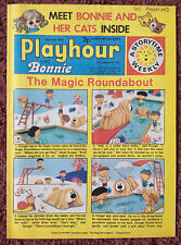 PLAYHOUR & BONNIE COMIC. 14 JUNE 1975. CHILDRENS COMIC. PUZZLES NOT DONE. FN+