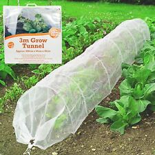 3m LONG MINI GREENHOUSE GROW TUNNEL Large Plant Frost Pest Bird Protection Cover